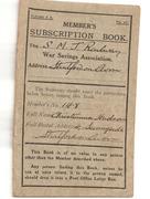 SMJ Subscription Book
