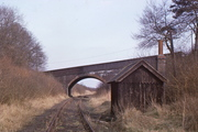 Buckinghamshire Railway bridge ands hut