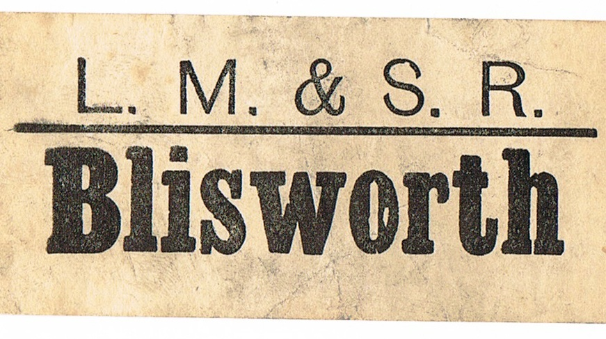 Blisworth Luggage Label
