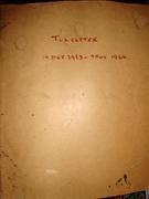 Towcester Train Register Book
