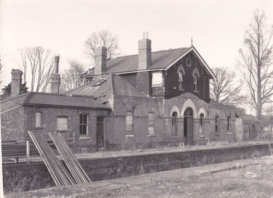 Towcester Station c.1966 (5)