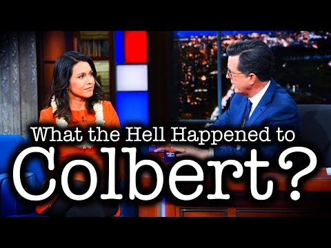 Stephen Colbert Grills Tulsi Gabbard for Rejecting the U.S. Empire's Propaganda