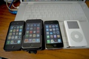 iPhones and iPods