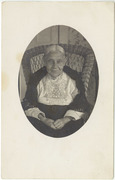 Althea Kneeland Hanscom 1837-1918, wife of John Hanscom 1816-1892 of Lee Maine