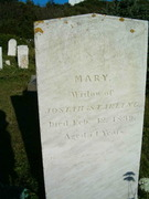 Mary (Trefethern) Starling d. Feb 12 1839 age 74