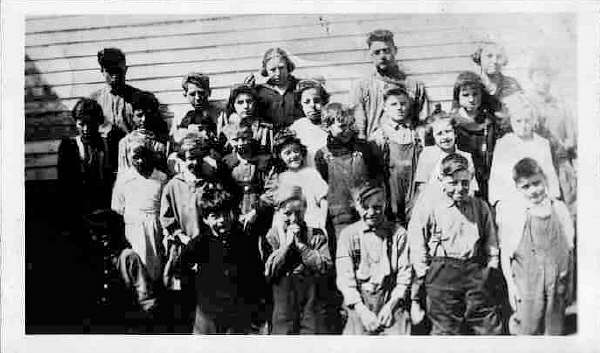 Westfield, Maine School circa early 1920's