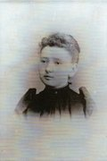 Florence Cressey's school picture when she went to Kents Hill boarding school in high school