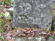 Liewellyn Richards Headstone
