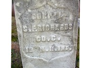 Silas Richards Headstone-2