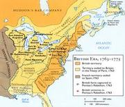 French & Indian Wars Map