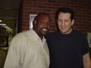 Me and Jeff lorber
