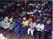 In audience at UCC Ghana