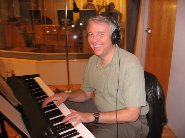 Kevin Clark-Recording Session 2008