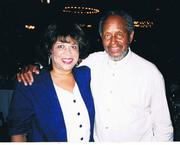 Kym with the great Percy Heath