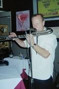 tim on bass flute