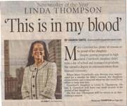 mayor-elect Linda Thompson