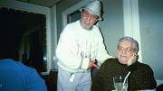 SPIDER RONDINELLI AND BOBBY NEGRI AT MARTINI'S 11-02