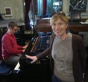no piano