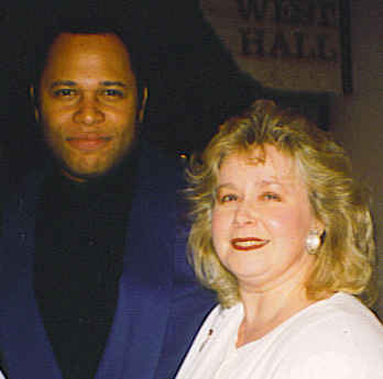 Byron Stripling and Michele Bensen