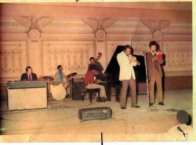 NATHAN DAVIS SEXTET at Soldiers & Sailors Memorial Auditorium  -  1973