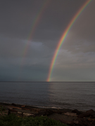 Rainbow on Georgia Strait