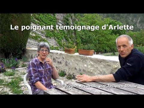 Le poignant témoignage d'Arlette (exclusivité)