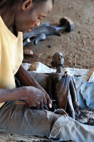 artesão africano