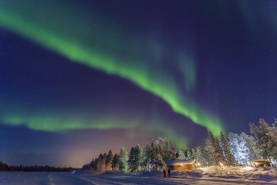 Lapónia - Auroras boreais