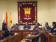 Fotos de la reunión con la Mancomunidad del Norte.