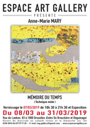 Affiche Anne-Marie MARY