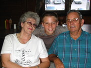 My parents and Andrew