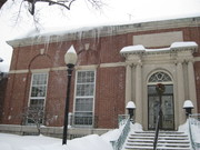 Jacob Edwards Library in Winter