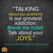 Hoda's Quote of the Day on the Today Show