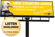 NEW COUNTRY-SHOW billboard