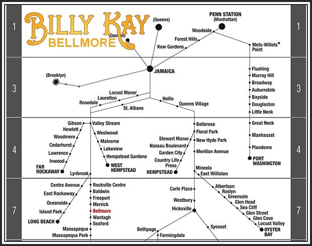 #BellmoreSpotting - Bellmore Train Route