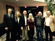 Gary, Susan and us at the awards