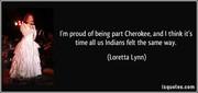 Pround to be Cherokee