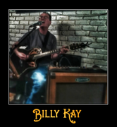 Billy Kay performing at Double D's Roadhouse in Topock, AZ