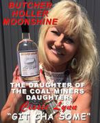Cissie Lynn with Doc Holidays Butcher Holler Moonshine