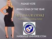 VOTE MELISSA RAMSKI RISING STAR OF THE YEAR