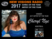 """""""2017 Artist Of The Year """" - New Visions Radio Network NY"""