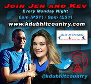 C0-Host on Kdub Hit Country Radio
