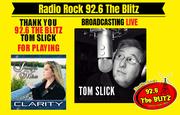 Radio play on 92.6 The Blitz