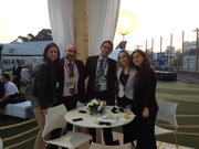 Sheltair's Jen Colon with the Lider Team at LABCE 2012