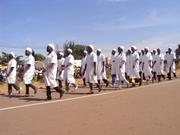 11 décembre 2012: des écoles professionnelles ont également participé au défilé