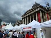 Canada Day: Trafalgar Square: London 2012