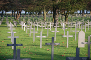 Neuville St Vaast German Cemetery - over 44,00 men are buried here...
