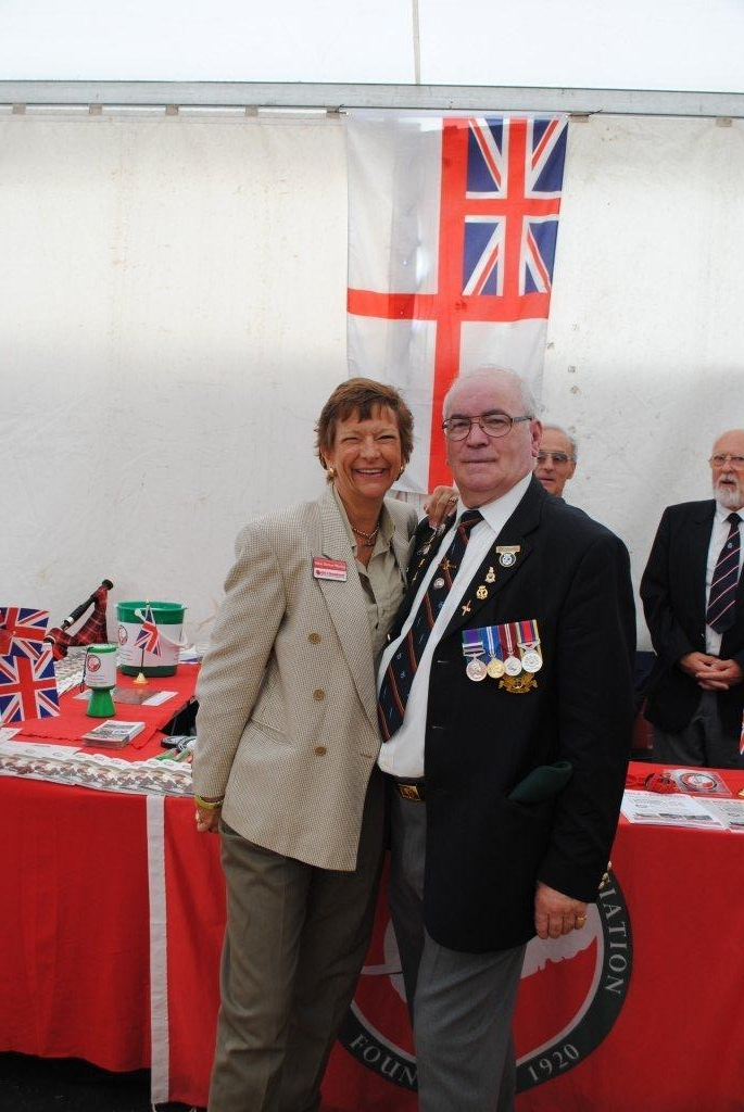 Spirit of Remembrance with WW2 vets
