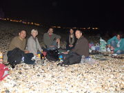BBQ Brighton beach - in October !