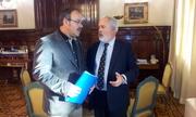Primera reunión de la Union de Uniones con el Ministro  Arias Cañete (1)